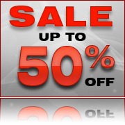 Up to 50 percent off in our Sale